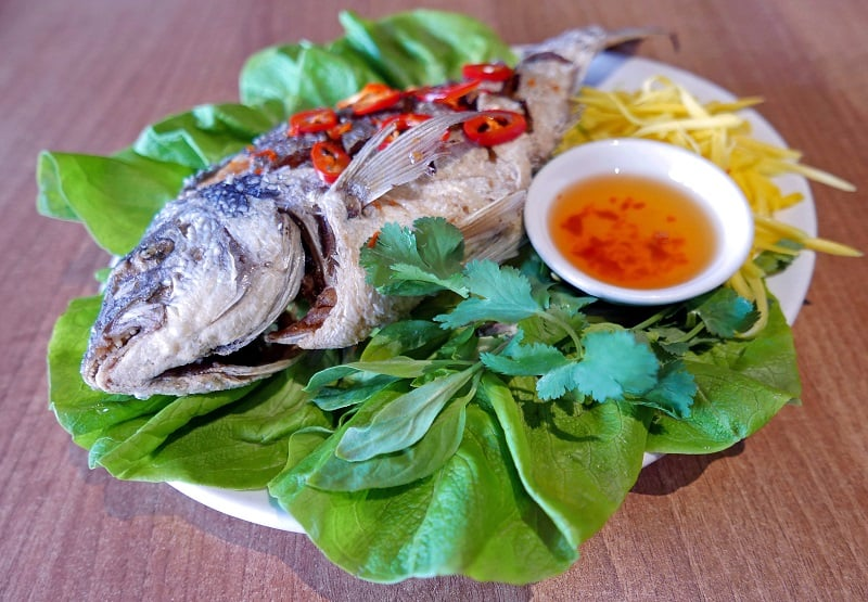 Crispy Whole Sea Bream