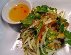 Papaya Salad with Tofu
