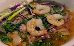 Pho with Prawns