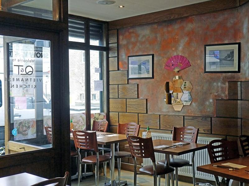 Q and T Vietnamese Restaurant Interiors