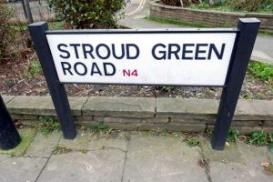 Stroud Green Road Sign