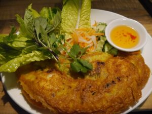 Traditional Vietnamese Crepe